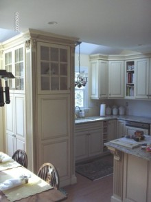 Classic Glazed Cabinets