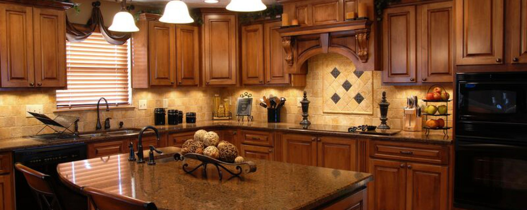 Cropped Kitchen Cabinets Traditional Medium Wood Golden Brown 004a S8919676 Wood Hood Island Luxury Jpg