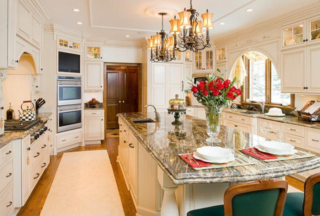 Great looking white kitchen cabinets for Nice looking kitchens