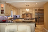 Kitchen Cabinets & Lighting